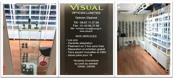 """Zoom sur un commerce Maisonnais : """"Visual Optic"""" CENTURY 21 L M B Agence immobilière à"""
